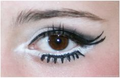 Simple make-up tricks to get huge Anime Manga eyes perfect for halloween and your eyes can stay open!
