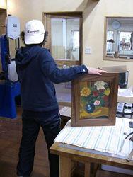 2008年12月21日 みんなの作品【額・鏡・壁飾り】|大阪の木工教室arbre(アルブル)