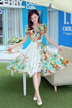 Summer White Dress Long Sleeve | Summer Dresses | Pinterest ...