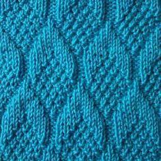 Vzor pro pletení jehly kužely