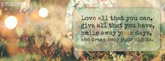 Get this Love All That You Can Facebook Covers for your profile from Get-Covers.com.