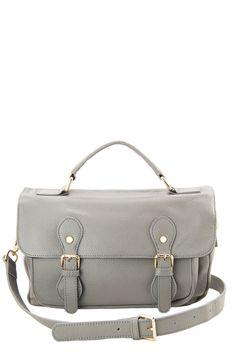 Tristan Leather Messenger Bag