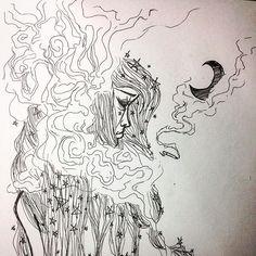 Extension smoking effect Midnight vibe fineline art