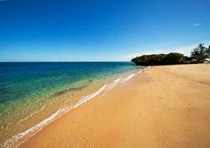 Main beach at Azura Quilalea.