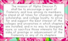 AOII <3 I remember this word for word, even after going alum 3 yrs ago