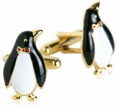 Penguin Cufflinks Gold-Tone by Cuff-Daddy Cuff-Daddy. $28.99. Made by Cuff-Daddy. Arrives in hard-sided, presentation box suitable for gifting.. Proudly MADE IN THE USA
