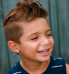 Boys' Haircuts For All The Times For Little Boy Fade Haircut The ...