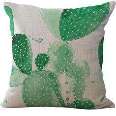 Livv Lifestyle kussenhoes cactus groen
