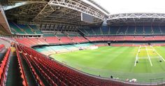 Saying hello to the @stadiumprincipality pitch