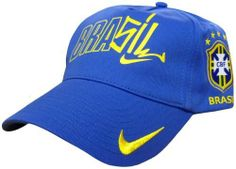 Brazil Blue Nike Cap by Nike. $16.58. The Brazil Blue Nike Cap is a brand new design for 2010 and is taken from their leisurewear range. It is a one size fits all design for adults and features an adjustable strap at the back. The cap is made from 100% cotton and is supplied with full washing instructions. It is blue in colour with yellow details and is designed to match the Brazil away kit. Other features include a printed Brazil logo, an embroidered Nike logo and a stit...