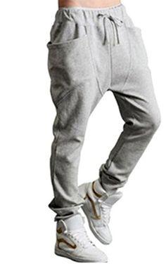 FINEJO Baggy Spring Harem Hippie Big Pockets Pants Trouser Light Grey XXL Finejo http://www.amazon.com/dp/B00R95X0QU/ref=cm_sw_r_pi_dp_fZJdvb1E2YF8G