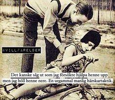 """""""Urgammal manlig härskartaktik""""  #härskarteknik #feminism #villfarelser..."""