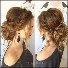 Frisuren | Braids | Pinterest | Frisur, Haar und Hochsteckfrisur