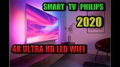 "SMART TV PHILIPS 55PUS7354 55"" 4K ULTRA HD LED WIFI AMBILIGHT 2020 ! SMA... Hd Led, Smart Tv, Wifi, Neon Signs, Musica"