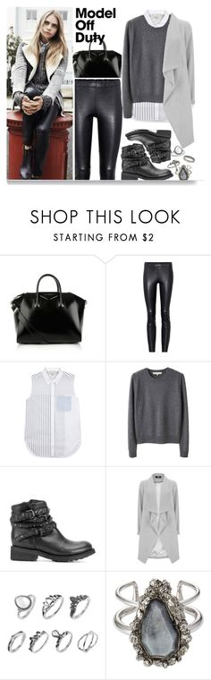 """1438"" by mykatty091 ❤ liked on Polyvore featuring Givenchy, Pepe Jeans London, STOULS, 3.1 Phillip Lim, Vanessa Bruno, Ash, Alexander McQueen, Miss Selfridge, polyvorecontest and modeloffduty"