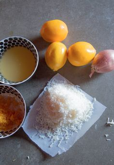 meyer lemon risotto // love and cupcakes