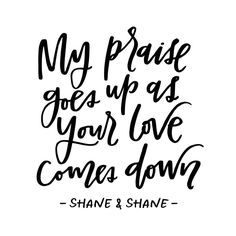 """I heard this lyric on pandora last week, and I wanted to pass it along! It's from @shaneandshane and the song is called """"Love Come Down."""" Thankful for His constant pouring of love. ❤️"""
