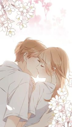 New Wallpaper Couple Anime Cute Ideas Iphone Wallpaper Quotes Bible, Pink Wallpaper Backgrounds, Wallpaper Iphone Disney, Trendy Wallpaper, New Wallpaper, Wallpapers, Cute Couples Kissing, Cute Disney, Disney Guys
