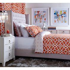 Concerto 6 drawer dresser chests dressers bedroom for Z gallerie bedroom inspiration