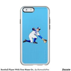 Baseball Player With Your Name Or Monogram Incipio Feather® Shine iPhone 6 Case