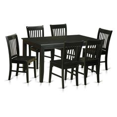 Norfolk Low Windor Dining Chair Wood/Black (Set Of 2)   Inspire Q | Norfolk,  Dining Chairs And Woods