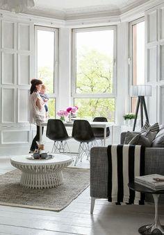 The Design Chaser: Black & White Basics from Ikea