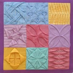 Jennie Rayment - check the full quilt also at this location ... : folded quilt blocks - Adamdwight.com