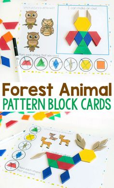 You and your kids will love this free printable zoo animal pattern block activity for preschoolers! Grab these pattern block mats for your preschool zoo animal themes! You will love these great free printables! #free #printable #kids #kidsactivities #animal #preschool