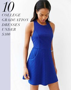 10 college graduation dresses under $100   theglitterguide.com