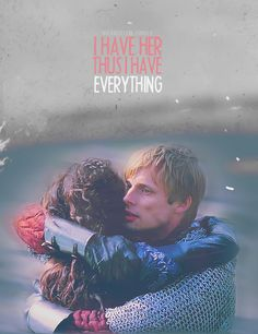 Arwen = Arthur and Gwen, BBC Merlin. I don't ship Merthur specifically because of how well Bradley and Angel played Arthur and Gwen. Merlin and Arthur might be soulmates in a different way, but Arthur and Gwen were romantic soulmates. Arthur And Guinevere, Merlin And Arthur, King Arthur, Best Tv Shows, Best Shows Ever, Favorite Tv Shows, Angel Coulby, Merlin Fandom, Merlin Cast