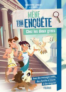 Une collection de romans-jeux pour les apprentis lecteurs : déchiffre les messages codés, trouve les indices dans les illustrations et résous les énigmes !