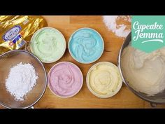 Buttercream Masterclass: How to make Perfect Buttercream Icing | Cupcake Jemma - YouTube