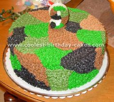 camouflage cake ideas httpwwwsugarfrostedcomalbumsuserpics