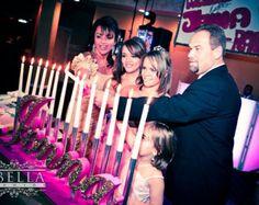 Sweet 16 Candelabras Mitzvah Candle Lighting Boards