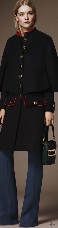 Pre-Fall 2016 Burberry. This, i would definitely get without a second tot if i see it!