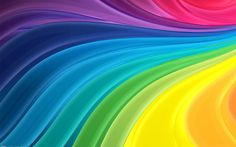 Cool Abstract HD Wallpaper Rainbow