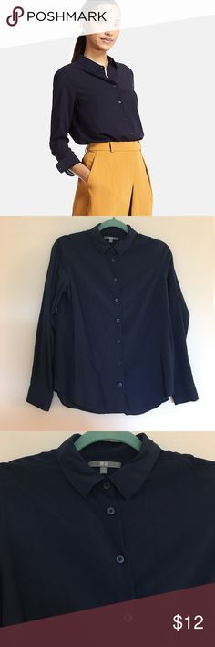 NWOT Uniqlo Blouse Never been worn! ✨ Uniqlo Tops Blouses