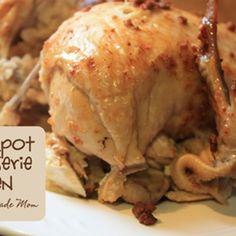 Crockpot Rotisserie Chicken