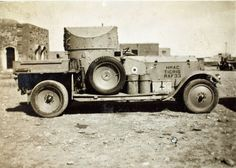 Armored Cars of WWI ~ TheGentlemanRacer.com