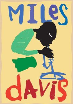 MILES DAVIS African American Jazz Horn Art