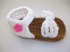 Crochet Baby Sandal Pattern, Baby Shoe
