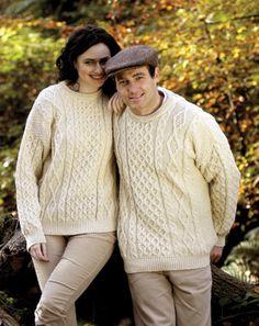 Irish Handknit Aran Sweaters