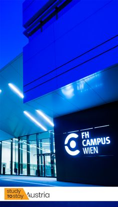 FH Campus Wien является крупнейшим университетом прикладных наук в Австрии.  FH Campus Wien также обеспечил студентам отличную инфраструктуру в каждом кампусе.  Обучение в FH Campus Wien дает Вам возможность развить свои профессиональные и личные навыки, необходимые для успешной карьеры в Австрии. ⠀  Свяжитесь с нами, чтобы поступить в FH Campus Wien 😉 #fh #fachhochschule #образование #высшееобразование #прикладныенауки #FHCampusWien #наука #образованиезарубежом #вена #европа #австрия Study, Neon Signs, Studio, Studying, Research