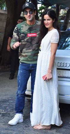 Ranbir Kapoor and Katrina Kaif After being spotted together in public places and family occasions Beautiful Bollywood Actress, Most Beautiful Indian Actress, Bollywood Actors, Bollywood Celebrities, Katrina Kaif Biography, Indian People, Cool Girl Pictures, Popular Girl, Ranbir Kapoor