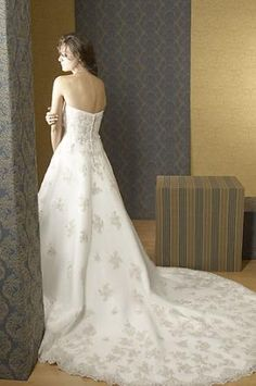 Alfred Sung - Bridal Gown - $850.00