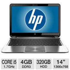 HP ENVY Pro 14 Core i5 Windows 7 Pro Ultrabook