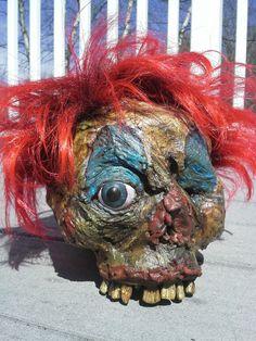 corpsed clown head