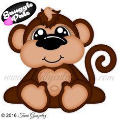 Snuggle Palz Monkey
