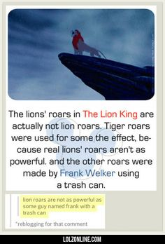 The Lion's Roars In The Lion King #lol #haha #funny