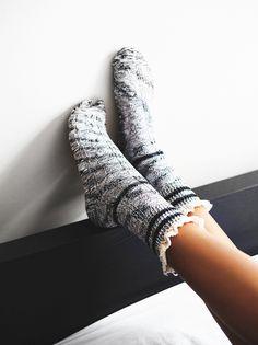 ruffle boot socks